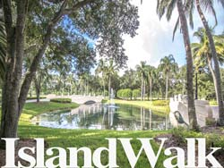 Island Walk in Naples, Florida.
